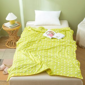 yellow dotty print cover